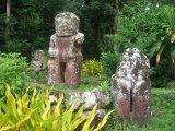 Tikis en Hiva Oa, Marquesas